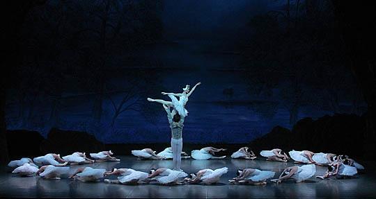 白鳥の湖 第二幕