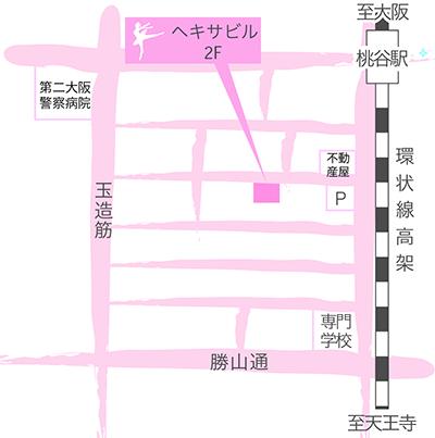 桃谷教室 地図
